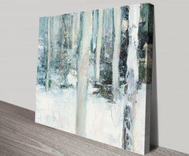 Winter Woods Magical Landscape Artwork