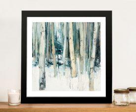 Buy a Framed Print of Winter Woods ll