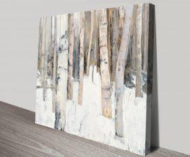 Warm Winter Light High-Resolution Wall Art