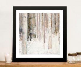 Warm Winter Light ll Print on Canvas
