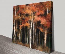 Buy October Woods Landscape Wall Art