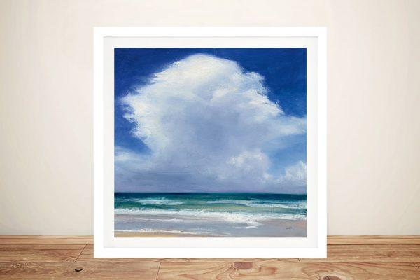 Beach Clouds Wall Art Home Decor Ideas AU