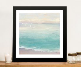From the Shore Framed Watercolour Seascape