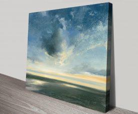 Coastal Sunrise Seascape Canvas Wall Art