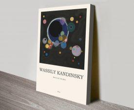 Several Circles Kandinsky Composition Art