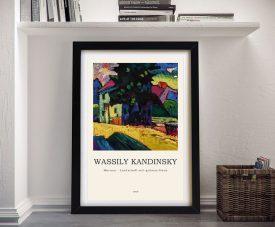 Murnau Framed Kandinsky Art Composition