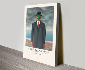 Son of Man Magritte Composition Artwork