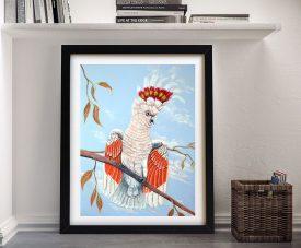 Framed Major Mitchell Cockatoo Wall Art