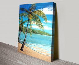 Palm Trees Quality Canvas Artwork