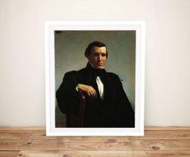 Portrait of Monsieur M Framed Classsic Print