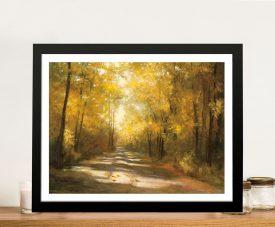 Gap Road Framed Landscape Canvas Art
