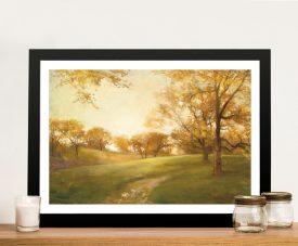 Midas Touch Landscape Print on Canvas