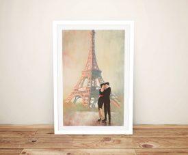 Rendezvous ll Julia Purinton Framed Print