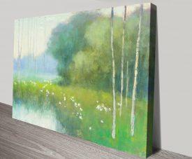 Spring Midst Watercolour Landscape Art