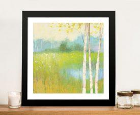 Spring Fling ll Framed Landscape Wall Art