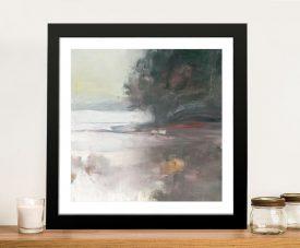 Cygnet Framed Landscape Print on Canvas