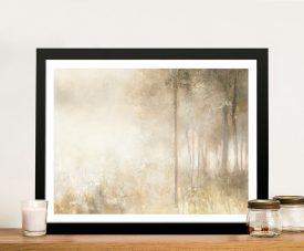Edge of the Woods Framed Canvas Artwork