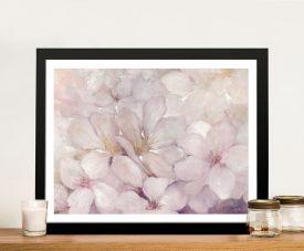 Apple Blossoms Framed Floral Art Print