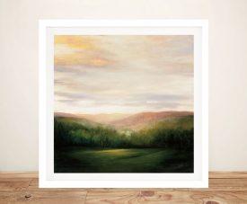 Celebration Framed Rural Art Print on Canvas