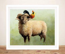 Buy BFF l Watercolour Animals Artwork