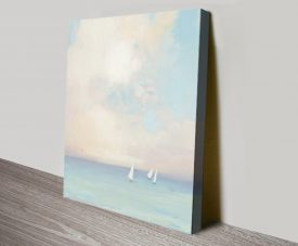 Morning Sail ll Quality Seascape Canvas Print