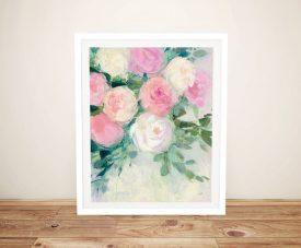June Abundance Pretty Floral Wall Art