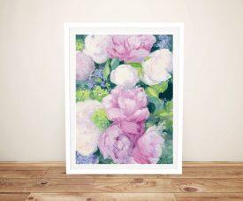 Summer Delight l Framed Floral Wall Art