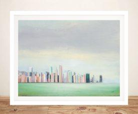 New York Skyline Julia Purinton Wall Art