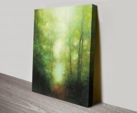 Into the Clearing Landscape Canvas Art