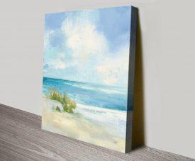 Wind & Waves ll Pretty Seascape Wall Art