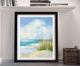 Wind & Waves lll Coastal Scene Wall Art