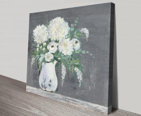 Late Summer Bouquet Floral Canvas Wall Art