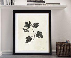 Botanical Study lll Pretty Floral Wall Art