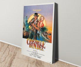 Buy a Crocodile Dundee Film Poster Print