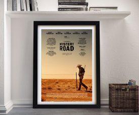 Framed Mystery Road Film Poster Artwork