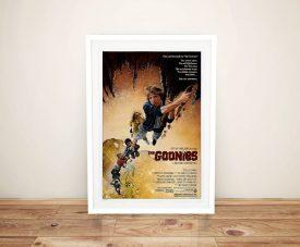 Buy The Goonies Framed Movie Poster