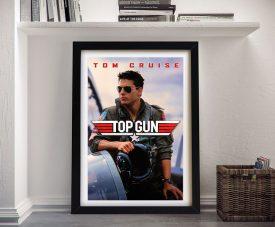 Buy a Framed Tom Cruise Top Gun Poster