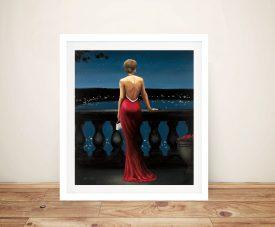 Thinking of Him Framed Romantic Wall Art