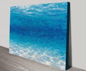 Underwater Crop Seascape Print on Canvas