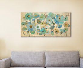 Floral Lace Silvia Vassileva Print on Canvas