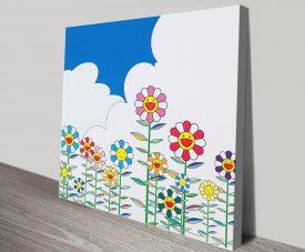 Buy Flowers 2 Takashi Murakami Art Prints