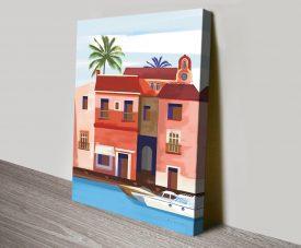 Las Palmas lV Affordable Print on Canvas