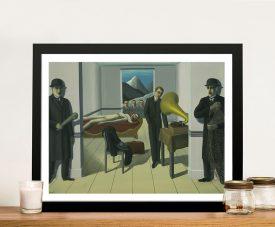 The Menaced Assassin René Magritte Wall Art