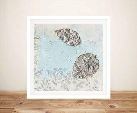 Gracefully Blue ll Shabby Chic James Wiens Print