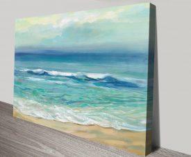 Seaside Sunrise Stretched Canvas Artwork