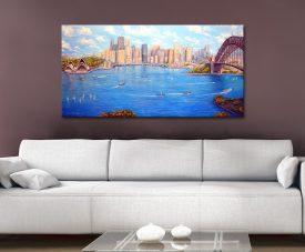 Sydney Harbour View Linda Callaghan Artwork