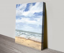 Walk on the Beach ll Aimee del Valle Art