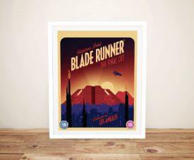 Blade Runner Comic Book Style Film Poster