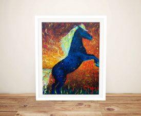 Caius Framed Stallion Chiara Magni Art