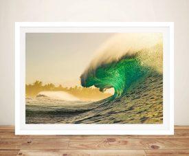 Empty Waves Zak Noyle Print on Canvas